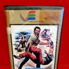 Cine: VHS • ¡PUÑOS FUERA! (1978) - BUD SPENCER [VIDEOESPAÑA]. Lote 189449268