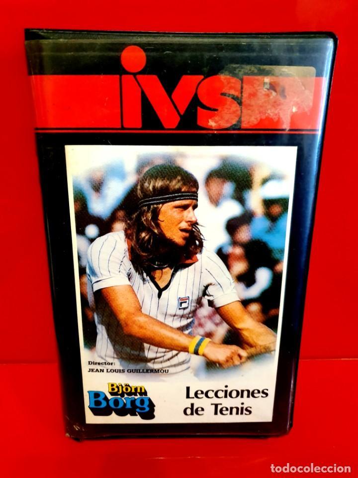 BJÖRN BORG - LECCIONES DE TENIS (1983) - DIR: JEAN LOUIS GUILLERMOU (RAREZA NUNCA EN TC) (Cine - Películas - BETA)