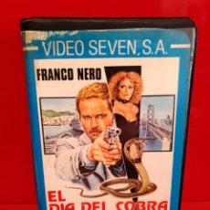 Cine: EL DIA DE LA COBRA (1973) FRANCO NERO - ENZO CASTELLARI - POLIZIESCO. Lote 189493220