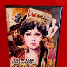 Cine: GRAN GOLPE AL CASINO (1975) SERGIO MARTINO - ENRICO MARÍA SALERNO - ARTES MARCIALES [VALFER VIDEO]. Lote 189881640