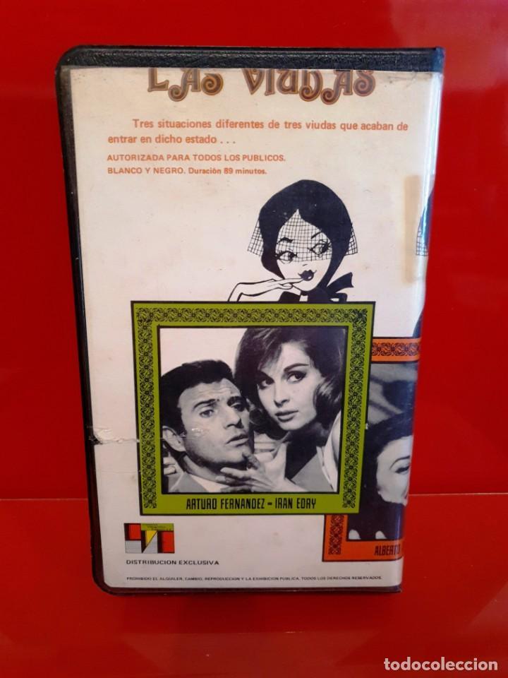 Cine: LAS VIUDAS (1966) - COMEDIA RELATOS MUERTE 3 MARIDOS - NUNCA EN TC - Foto 2 - 189955531