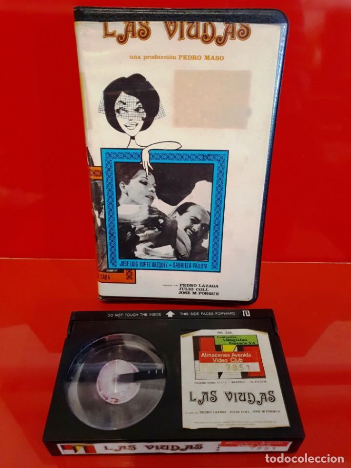 Cine: LAS VIUDAS (1966) - COMEDIA RELATOS MUERTE 3 MARIDOS - NUNCA EN TC - Foto 3 - 189955531