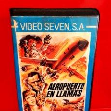 Cine: AEROPUERTO EN LLAMAS (1980) - TERREMOTO, CATASTROFES. Lote 189974938