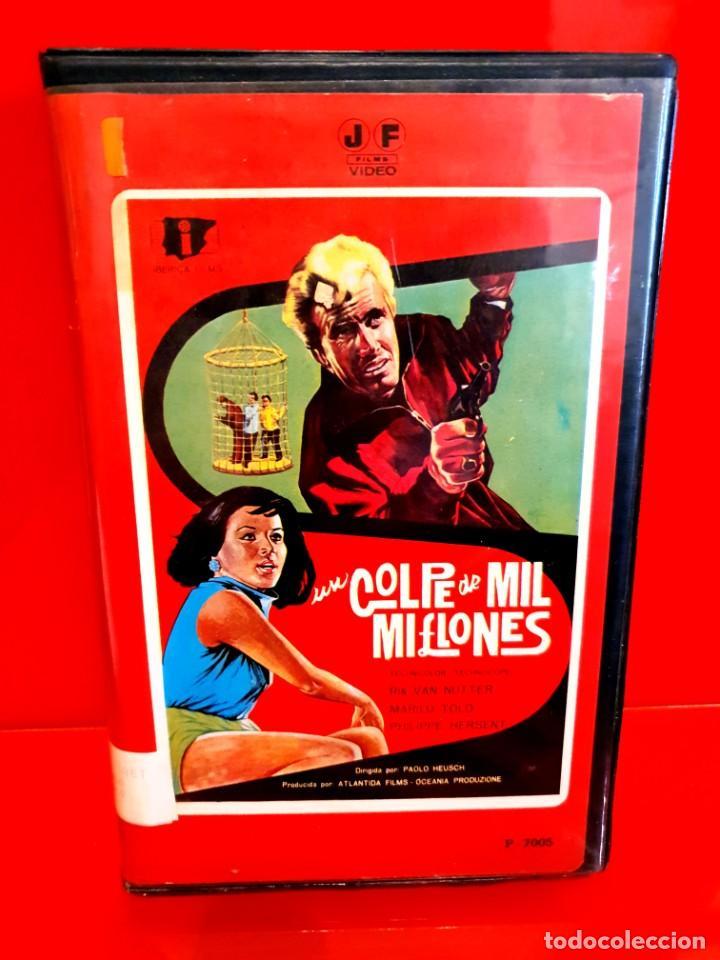 UN GOLPE DE MIL MILLONES (1966) - UN COLPO DA MILLE MILIARDI - 1ª EDIC. JOSE FRADE (Cine - Películas - BETA)