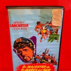 Cine: SU MAJESTAD DE LOS MARES DEL SUR (1954) - EDICION INEDITA EN TC. Lote 190360490