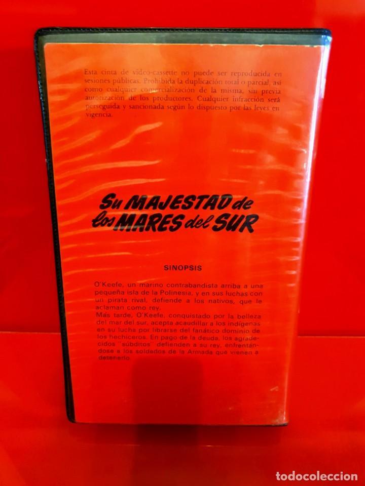 Cine: SU MAJESTAD DE LOS MARES DEL SUR (1954) - EDICION INEDITA EN TC - Foto 2 - 190360490