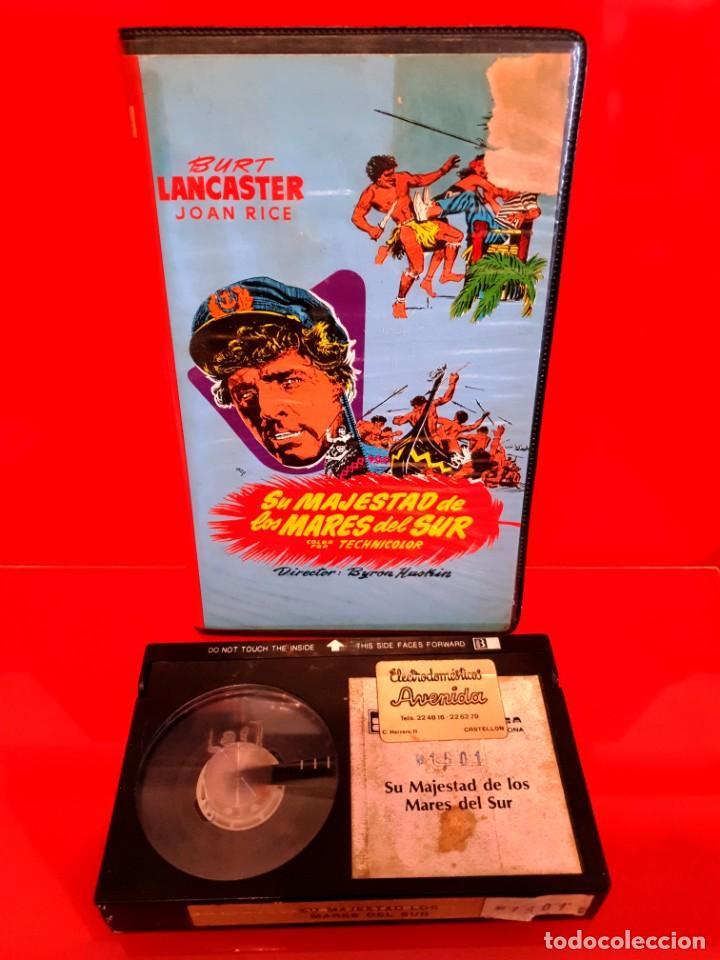 Cine: SU MAJESTAD DE LOS MARES DEL SUR (1954) - EDICION INEDITA EN TC - Foto 3 - 190360490