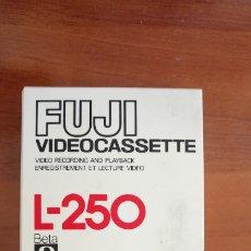 Cine: VIDEO CASETE FUJI FINE GRAIN BERIDOX L-250 BETAMAX. Lote 141181658