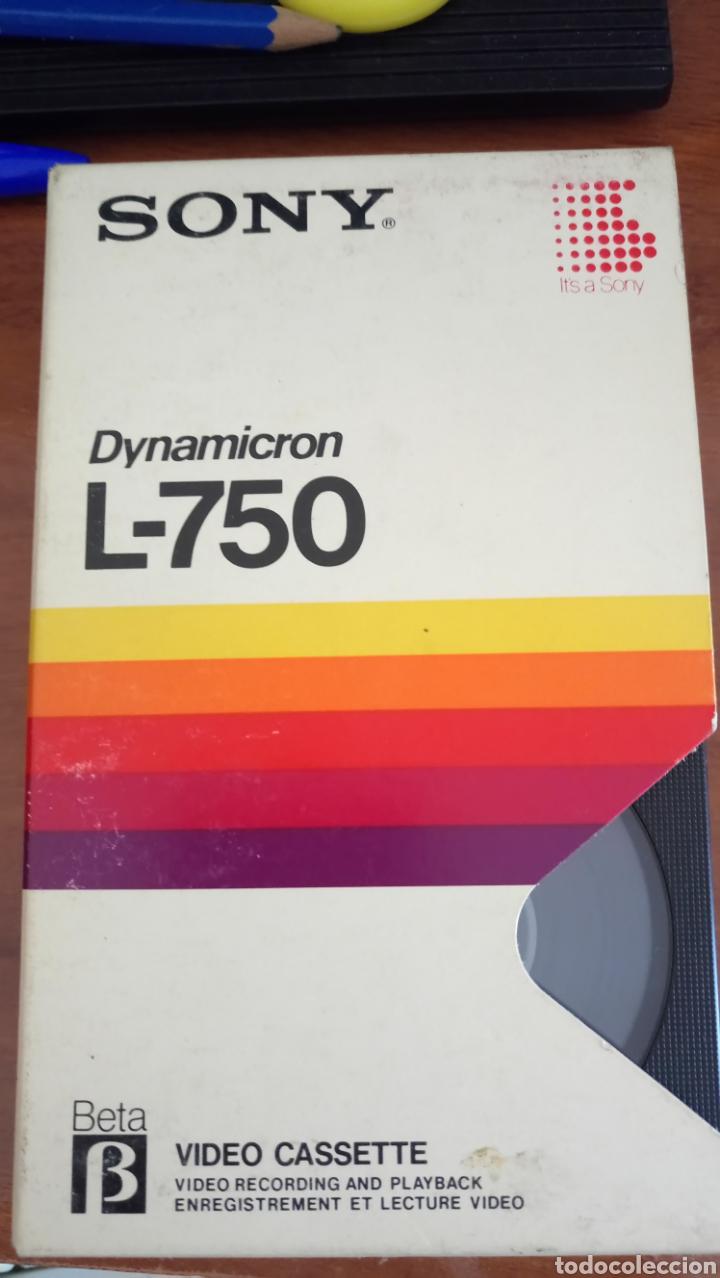 CINTA SONY DYNAMICRON L-750 BETA VIDEO CASETE BETAMAX (Cine - Películas - BETA)