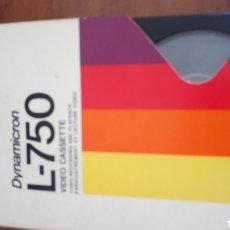Cine: CINTA SONY DYNAMICRON L-750 BETA VIDEO CASETE BETAMAX. Lote 240196410