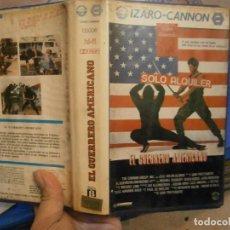Cine: EL GUERRERO AMERICANO¡¡BETA 1 EDICION¡. Lote 191167552