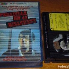Cine: PESADILLA EN 43 HILLCREST - BETAMAX POLYGRAM VIDEO. Lote 191354348