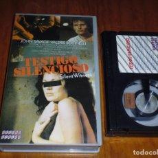 Cine: TESTIGO SILENCIOSO / SILENT WITNESS - JOHN SAVAGE - BETAMAX. Lote 191439983