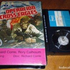 Cine: OPERACION CROSS EAGLES - RICHARD CONTE, RORY CALHOUM, AILI KING - BETA. Lote 191440328