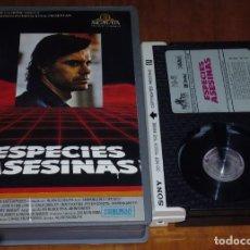 Cine: ESPECIES ASESINAS - ROBERT URICH - TERROR / SCFI - BETA. Lote 191515486