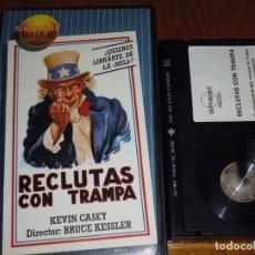 Cine: RECLUTAS CON TRAMPA - KEVIN CASEY, BRUCE KESSLER - BETA. Lote 191593290