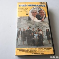 Cine: BETA VIDEO TRES HERMANOS FRANCESCO ROSI PHILIPPE NOIRET MICHELE PLACIDO NOMINADA AL OSCAR: MEJOR PEL. Lote 192065631