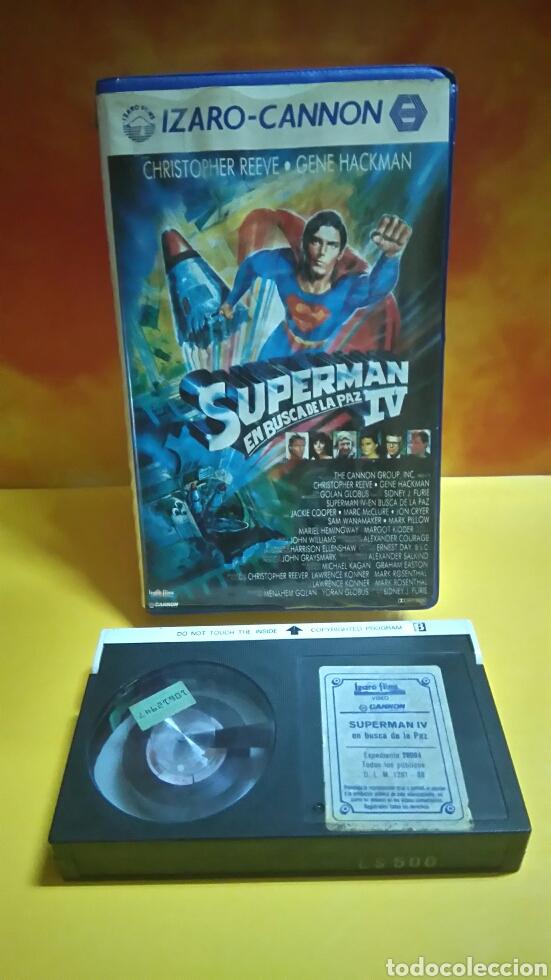 SUPERMAN IV EN BUSCA DE LA PAZ, CINTA BETA. (Cine - Películas - BETA)