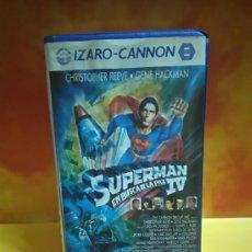 Cine: SUPERMAN IV EN BUSCA DE LA PAZ, CINTA BETA.. Lote 192402717