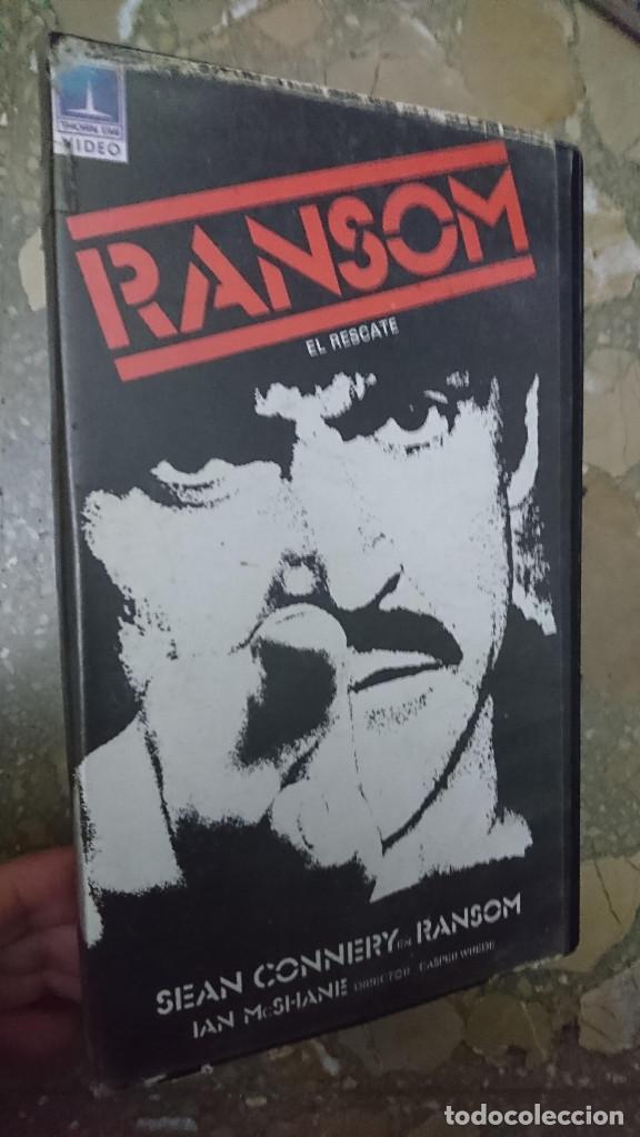 RANSON ( EL RESCATE ) . ANTIGUA PELICULA VIDEO 2000 V2000 PROCEDENTE VIDEOCLUB 1984 (Cine - Películas - BETA)