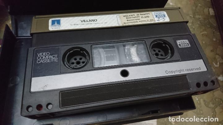 Cine: 3 PELICULAS AÑOS 80 VIDEO 2000 V2000 PAN DE ANGEL , EL VILLANO Y 1919 CRONICA DEL ALBA AÑOS 80 - Foto 4 - 192493750