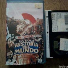 Cine: LA LOCA HISTORIA DEL MUNDO, MEL BROOKS, BETA. Lote 195471186