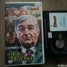 Cine: JUEZ Y VERDUGO, BETA. Lote 195551201