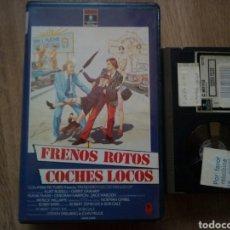 Cine: FRENOS ROTOS COCHES LOCOS, BETA. Lote 195639972
