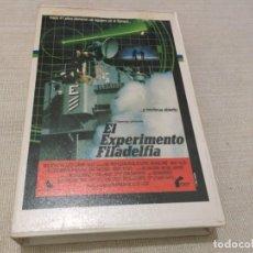 Cine: BETA VIDEO EL EXPERIMENTO FILADELFIA PRIMERA EDICIÓN CAJA GRANDE FILMAYER VIDEO. Lote 195907175