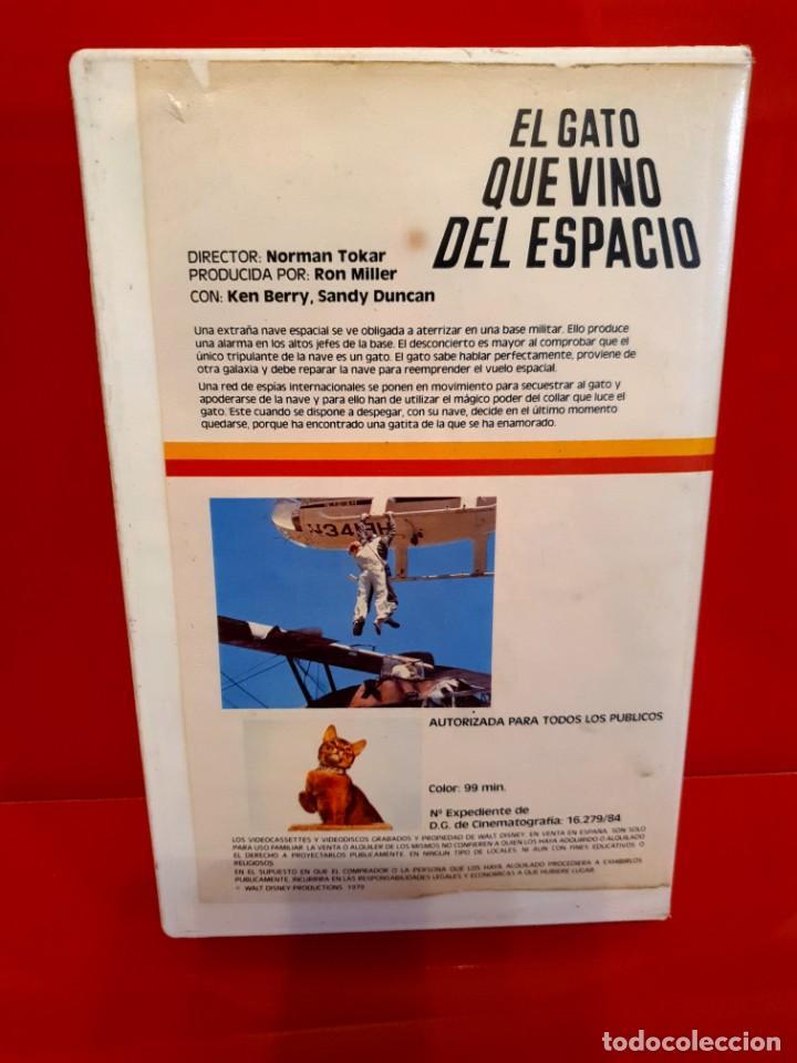 Cine: EL GATO QUE VINO DEL ESPACIO - WALT DISNEY - Foto 2 - 197607092
