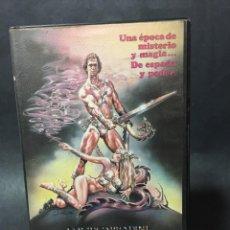 Cine: BETA VIDEO EL GUERRERO Y LA HECHICERA 1ª EDICION DAVID CARRADINE ESPADA Y BRUJERIA. Lote 197678365
