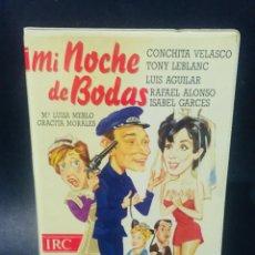 Cine: BETA MI NOCHE DE BODAS CONCHA VELASCO GRACITA MORALES ISABEL GARCÉS 1ª EDICION CAJA GRANDE. Lote 197692570