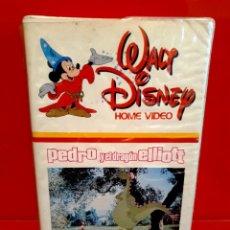Cine: PEDRO Y EL DRAGON ELLIOT (1977) - DON CHAFFEY, SEAN MARSHALL, HELEN REDDY - 1ª EDICIÓN WALT DISNEY. Lote 198760190