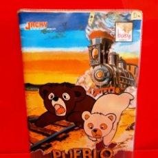 Cine: JACKY EL OSO - PUEBLO DEL OESTE (DIBUJOS ANIMADOS) - UNICA EN TC. Lote 199228846