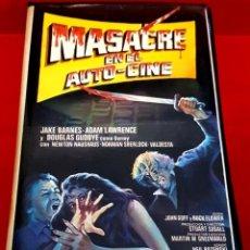 Cine: MASACRE EN EL AUTO-CINE (1977) - CB FILMS 1ª EDICIÓN. Lote 200878082