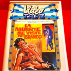 Cine: LA MUERTE SE VISTE DE BLANCO (1983) - SEXPLOITATION RARISIMA . Lote 201231120