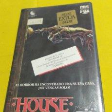 Cine: HOUSE UNA CASA ALUCINANTE 1993 BETA ORIGINAL. Lote 203540473