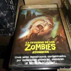 Cine: LA INVASION DE LOS ZOMBIS ATOMICOS BETA ORIGINAL ZOMBIES. Lote 206520552