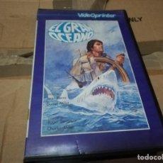 Cine: EL GRAN OCEANO BETA ORIGINAL. Lote 206534802