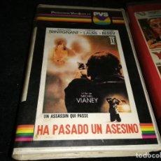 Cine: HA PASADO UN ASESINO V2000 ORIGINAL SISTEMA VIDEO 2000 UNICA EN TC. Lote 206539650