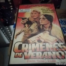 Cine: CRIMENES DE VERANO V2000 ORIGINAL SISTEMA VIDEO 2000 UNICA EN TC. Lote 206540006