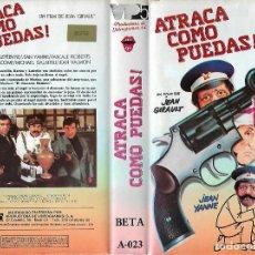 Cine: BETA - ATRACA COMO PUEDAS - REGALO TRANSFER. Lote 206575348