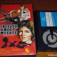 Cine: INCESTO , AMOR Y MUERTE - BRUNO LAWRENCE , MARY REGAN - BETA. Lote 207012601