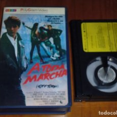 Cine: A TODA MARCHA , TUFF TURF - BETA - POLYGRAM VIDEO. Lote 207013283