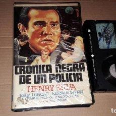 Cine: CRONICA NEGRA DE UN POLICIA BETA POLIZIESCO. Lote 207015333