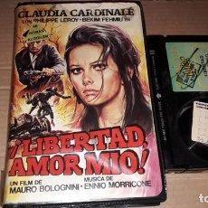 Cine: LIBERTAD AMOR MIO BETA BETAMAX CLAUDIA CARDINALE. Lote 207016533