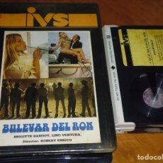 Cine: BULEVAR DEL RON - ROBERT ENRICO, BRIGITTE BARDOT, LINO VENTURA - BETA. Lote 207056443