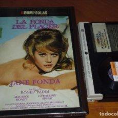 Cine: LA RONDA DEL PLACER - JANE FONDA, CATHERINE SPAAK - BETA. Lote 207064638