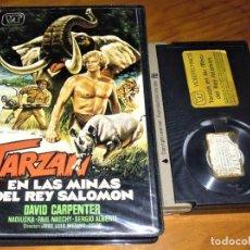 Cine: TARZAN EN LAS MINAS DEL REY SALOMON - PAUL NASCHY , JOSE LUIS MERINO - BETA. Lote 207146801