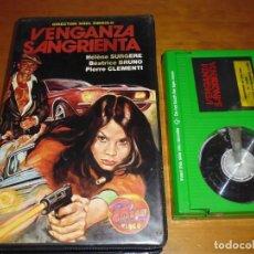 Cine: VENGANZA SANGRIENTA - HELENE SURGERE, NOEL SIMSOLO - BETA. Lote 207146916